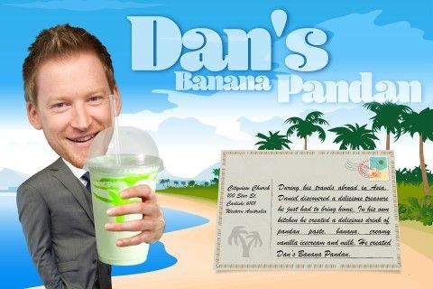 Dan's Banana Pandan